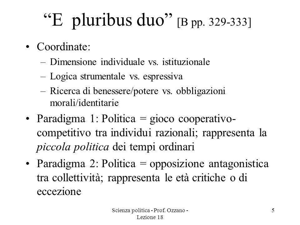 E pluribus duo [B pp. 329-333]